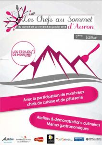 chefs au sommet d auron
