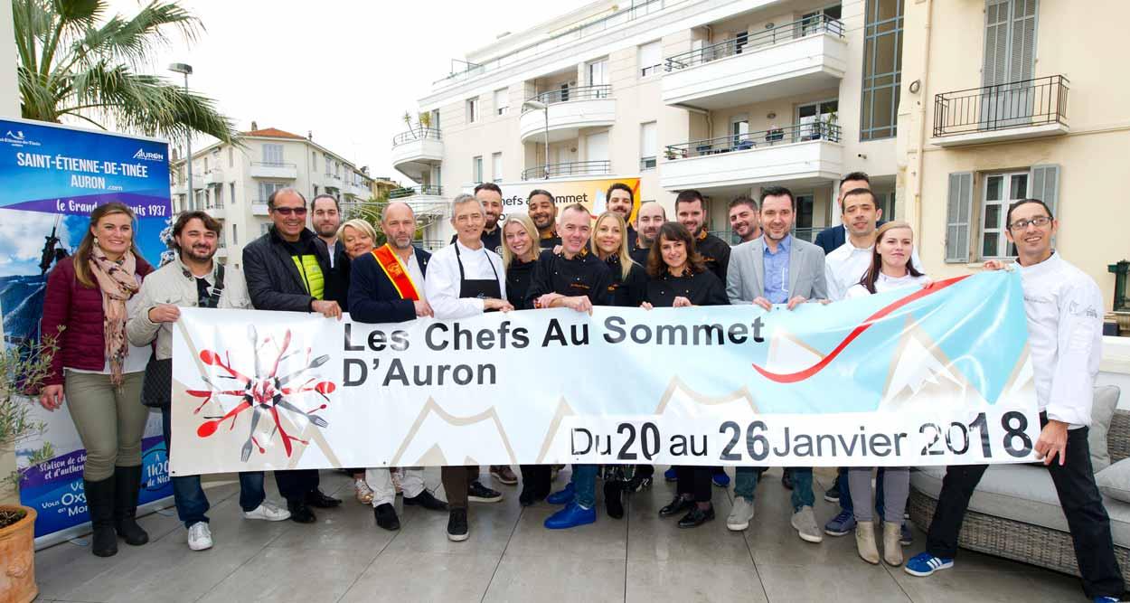 chefs au sommet auron 2018 annonce