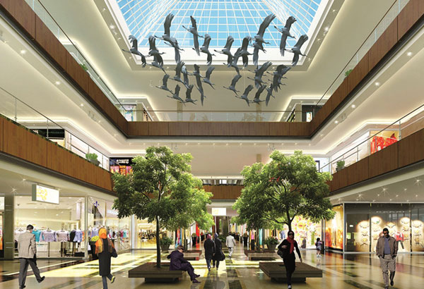 iran mall luxury tehran imcc