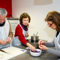 yves terrillon la cuisine des fleurs violette