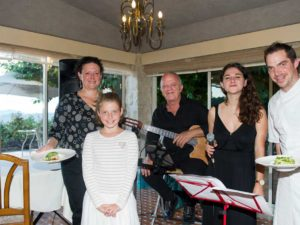 restaurant le castellaras jazz in the garden 2018