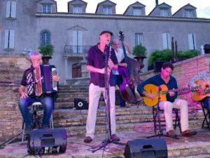 chateau roubine jazz manouche 2018