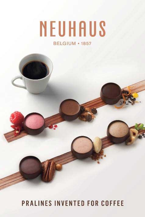 neuhaus coffee pralines collection tfwa we 2018