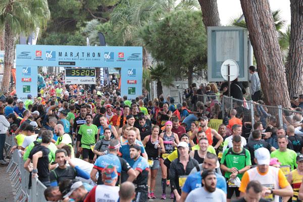 Sportsklubben Rye i Nice - Cannes maraton
