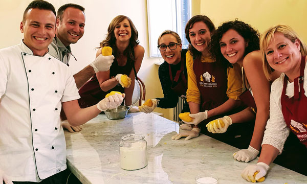 full papal experience inrome cooking