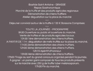 bastide saint antoine grasse chibois gastronomie truffe