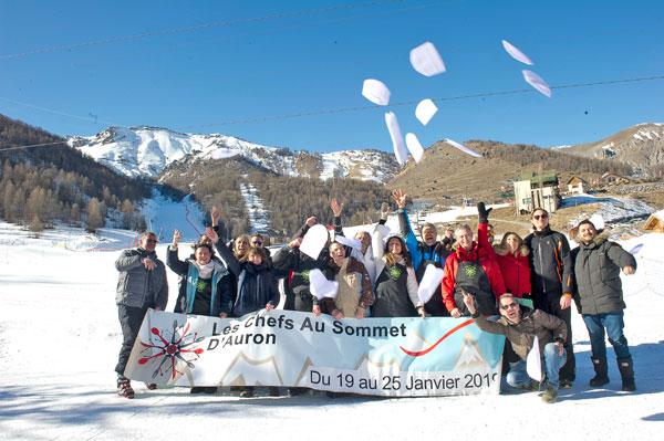 chefs au sommet auron 2019 partenaire
