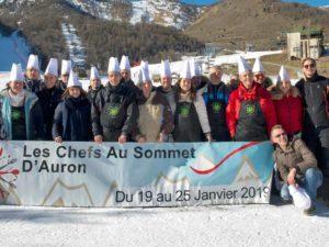 chefs au sommet auron 2019 partenaires