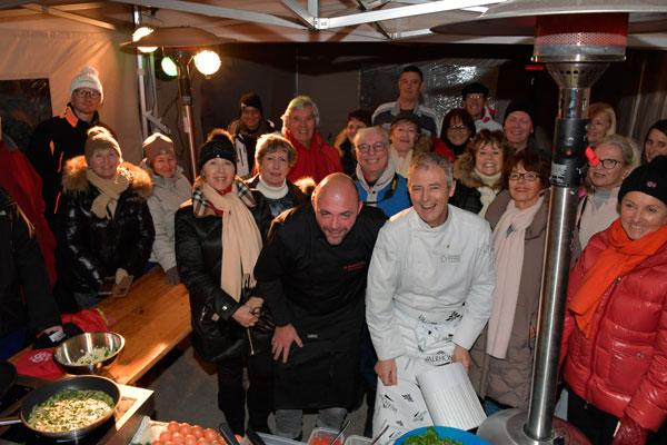 Fayance Cuisine : Chefs au sommet d auron des montagnes locavore