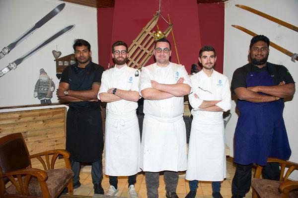 chefs au sommet auron virginie basselot fabrice didier les pivottes