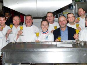 chefs au sommet auron 2019 diner mof