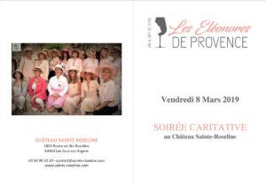 Soirée caritative au Château Sainte Roseline