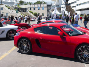 porsche cannes rouge