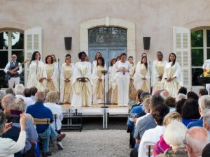 divin gospel music chateau sainte roseline