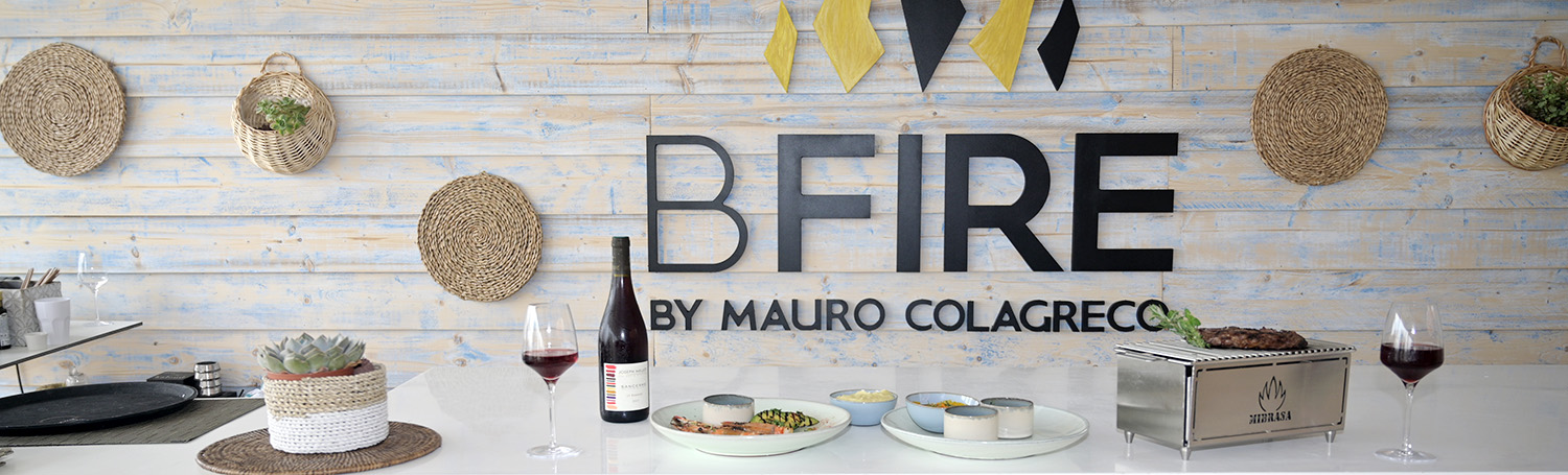 bfire by mauro colagreco cannes