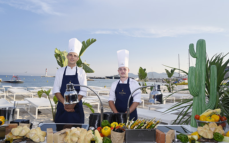 bfire hotel majestic barriere cannes