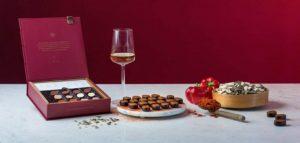 neuhaus wine praline pairing