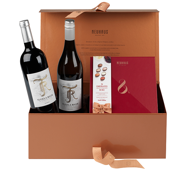 neuhaus wine pralines