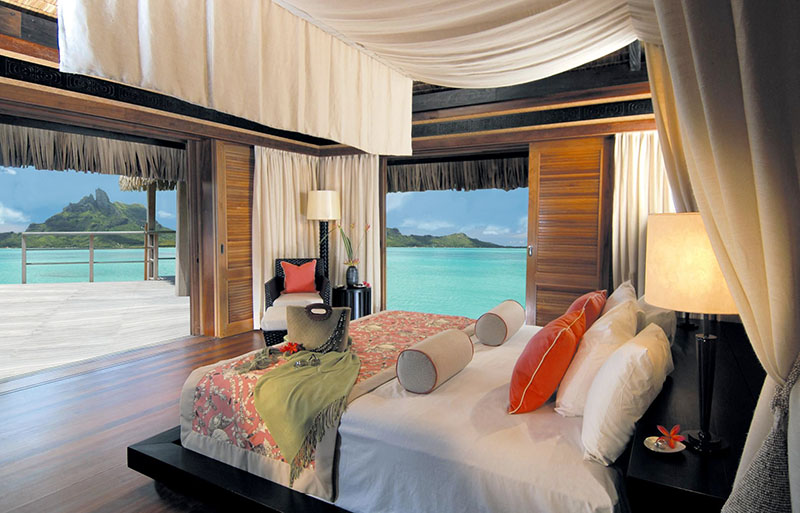 The St Regis Bora Bora Resort polynesie