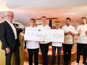 restos du coeur diner de chefs 2019