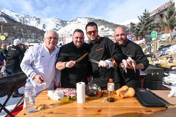 chefs au sommet auron 2020 toques brulees