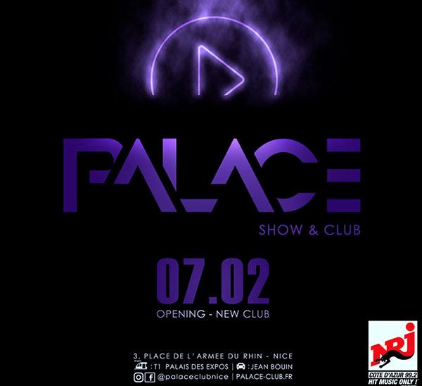 palace club discotheque nice