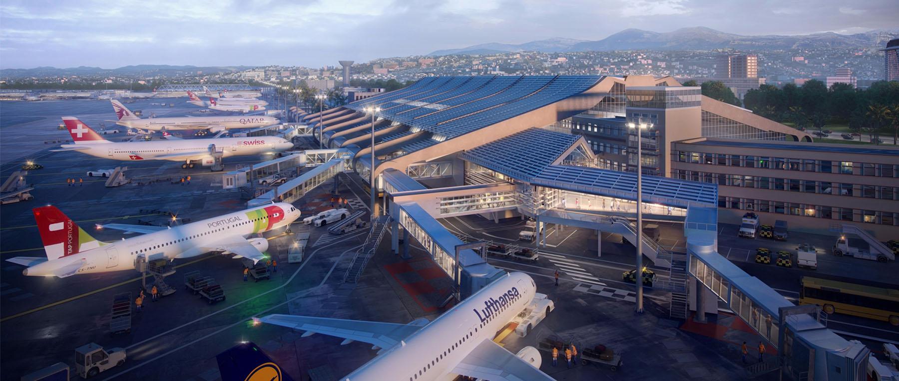 aeroport nicote azur ferme terminal 1