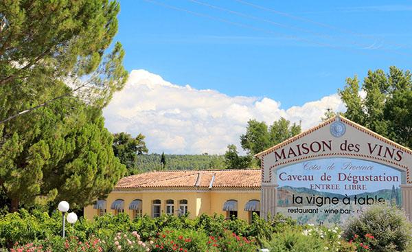 vins de provence realite augmentee