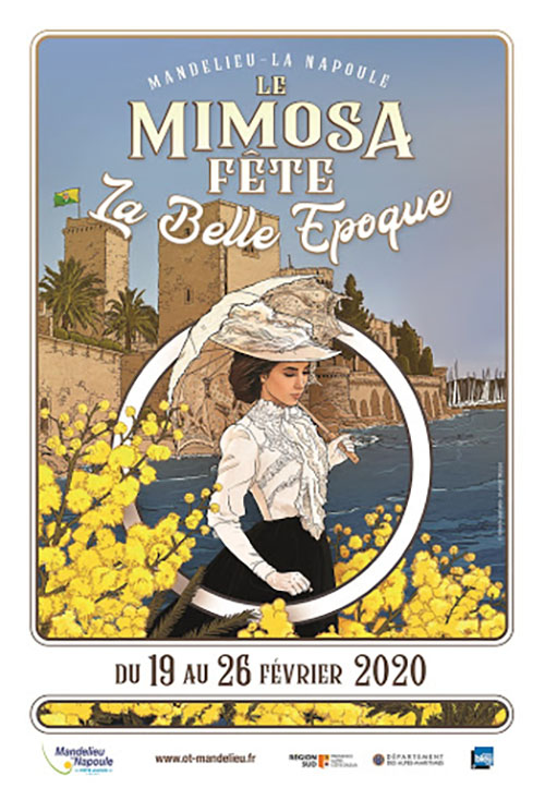 fete mimosa 2020 mandelieu belle epoque