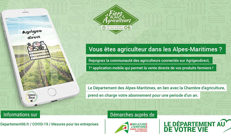 agrigeodirect plateforme solidaire agriculteurs