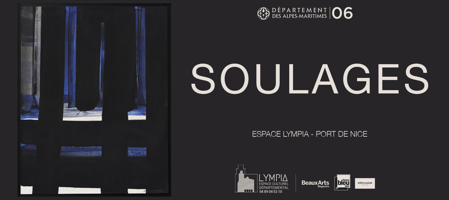 espace lympia nice pierre soulages