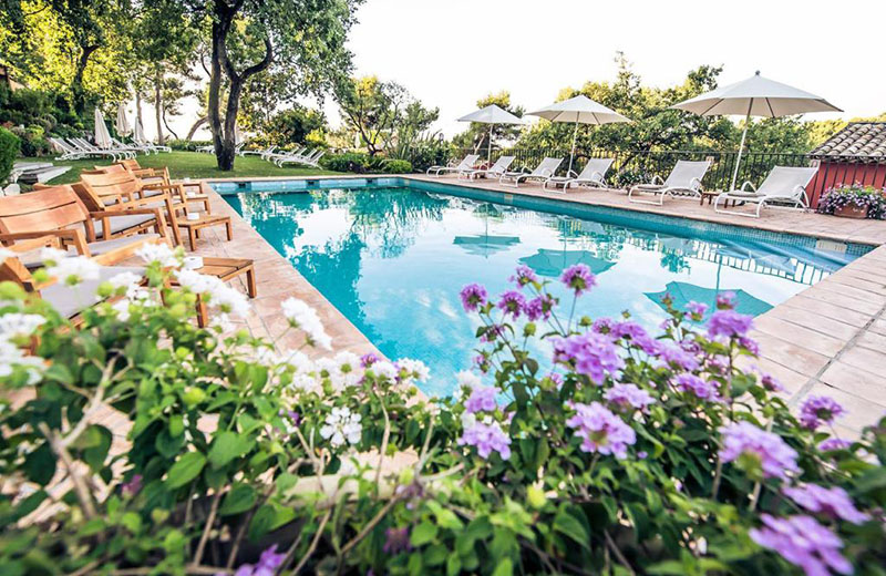 hotel cantemerle spa saison estivale
