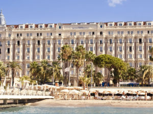 carlton beach cannes