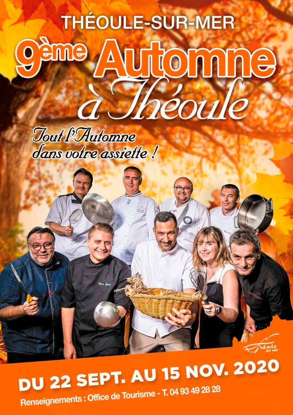 automne a theoule 2020