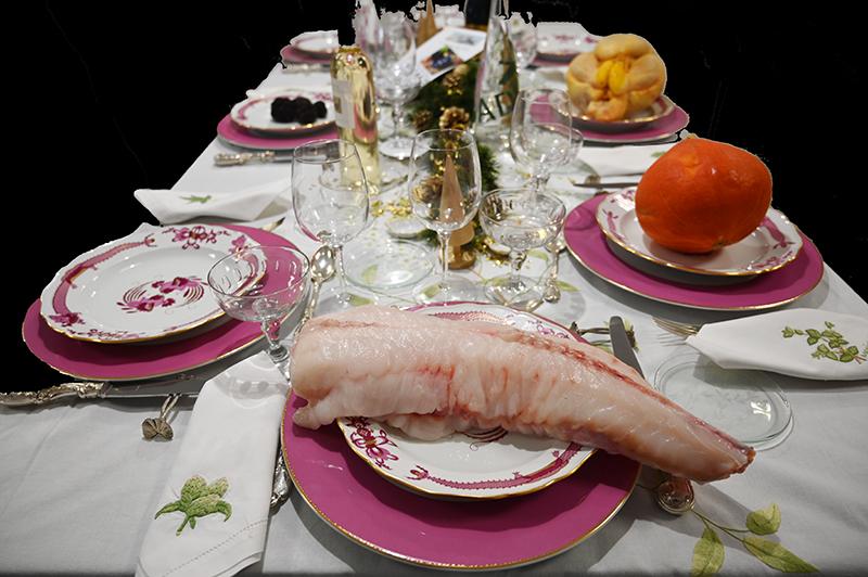 raisin grappe menu fêtes emporter