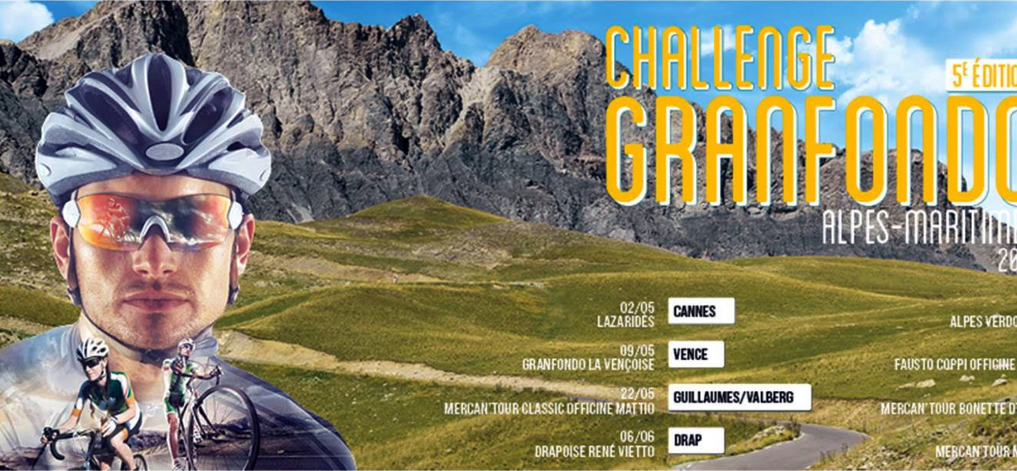 edition challenge granfondo alpes maritimes