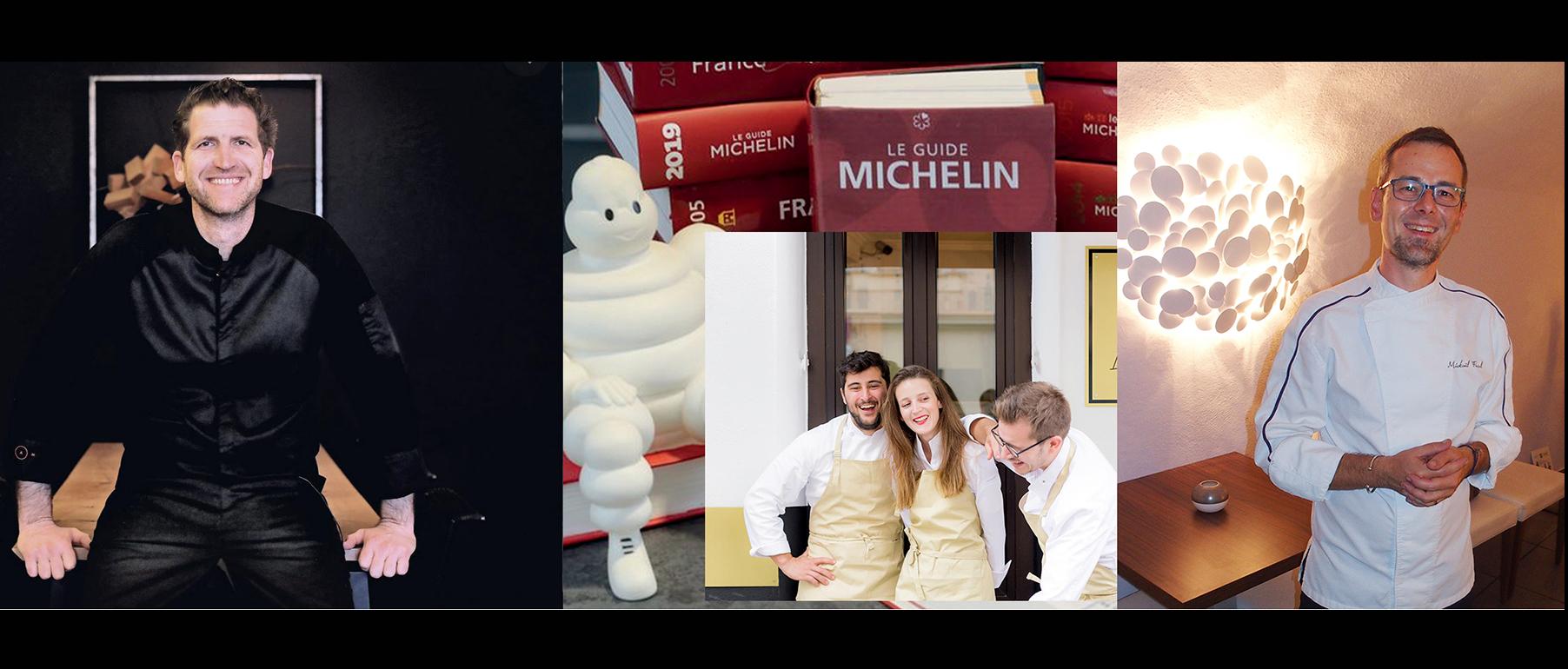 nouveaux étoilés michelin région paca