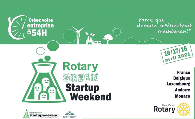 rotary green start up week end