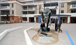 kristian gilles deverchère sculpture quatre mains