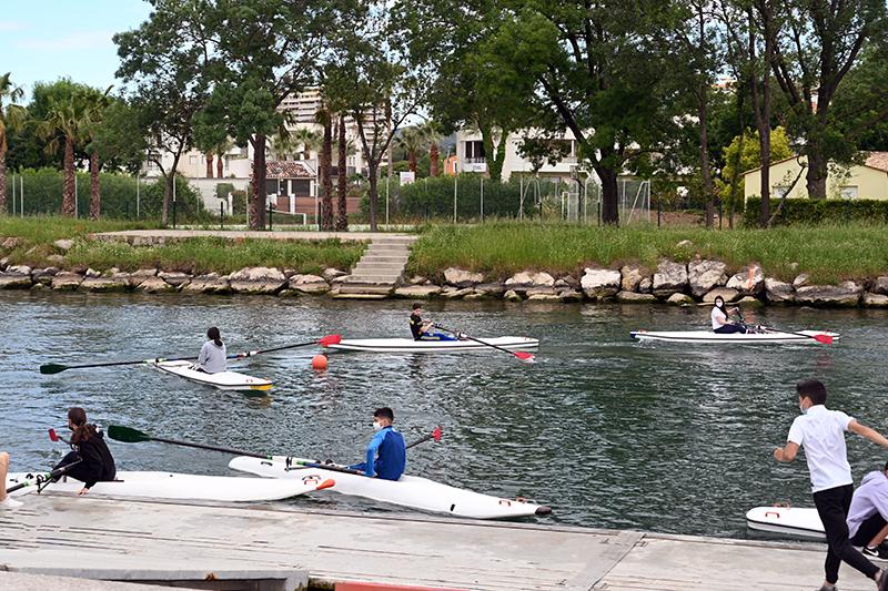 rowing club ramées nature