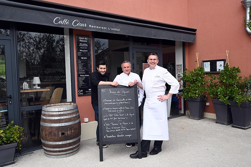 caffé cesar opio ouvre gastronomie terrasse