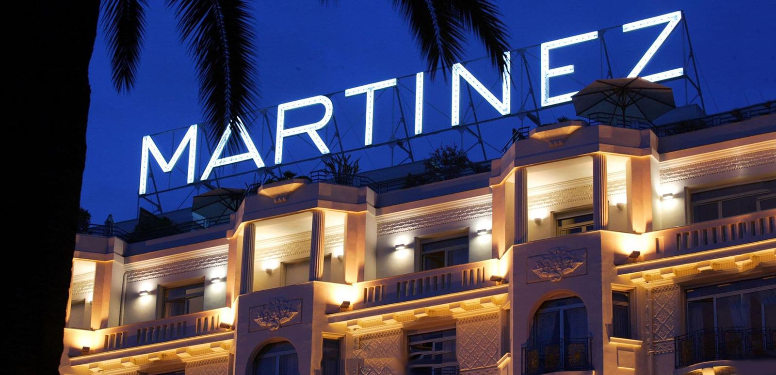 hôtel martinez légende continue croisette