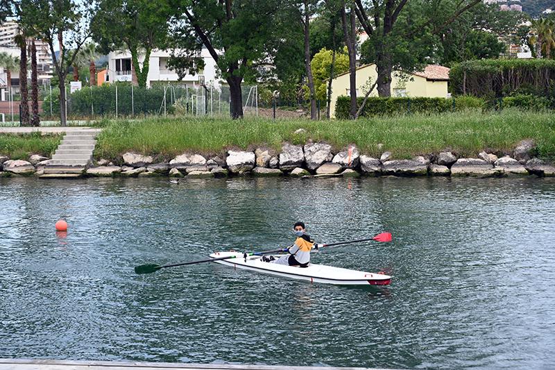 rowing club ramées nature mandelieu