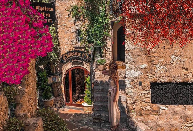 château eza paradis enchanteur gourmand