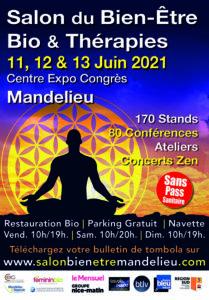 Salon du Bien-Être, Bio & Thérapies à Mandelieu