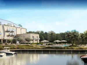 ilot golf nouvel hôtel mandelieu