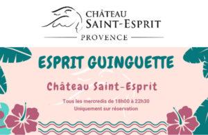 Esprit Guinguette Château Saint-Esprit