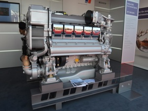 mtu hightech marine engine